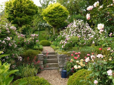 gartengestaltung ideen kleine gärten kleiner garten:  tricks für die gestaltung - mein schöner