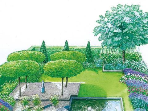 moderne gärten gestalten gestaltungstipps für moderne gärten - mein schöner garten