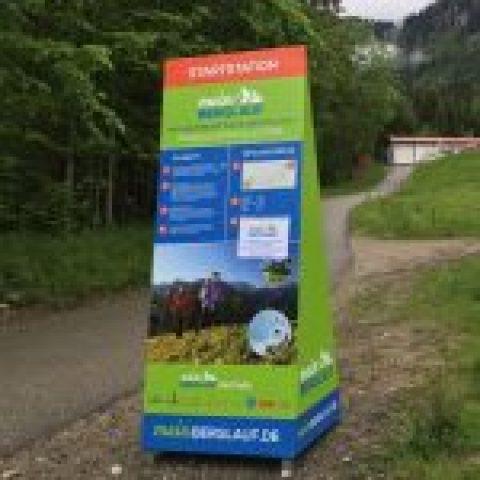 meinBerglauf Startstation Kolbensattelhütte