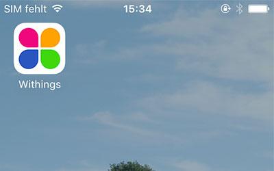 So nutze ich die Withings App