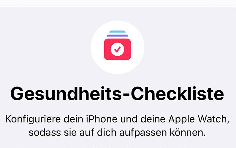 Apple Health automatische Problemerkennung