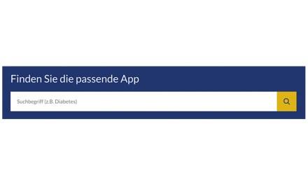 Top 3 Verzeichnisse von Gesundheits-Apps