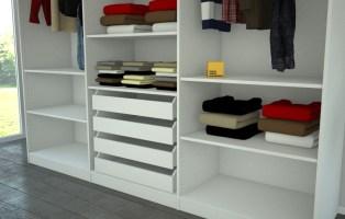 Kleiderschrank mit innenliegenden Schubladen   meine ...