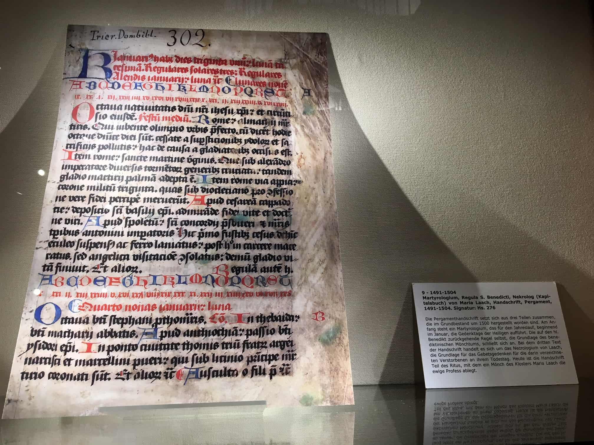 Klosterbibliothek Maria Laach