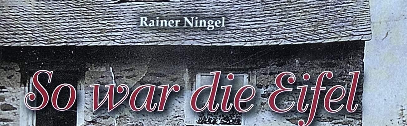 """Coverausschnitt """"So war die Eifel"""" gereimte Geschichten"""
