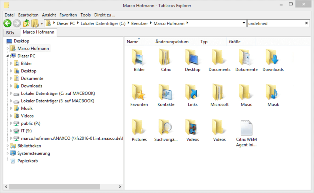 Tablacus Explorer is an awesome replacement for explorer.exe as a #XenApp published Application!