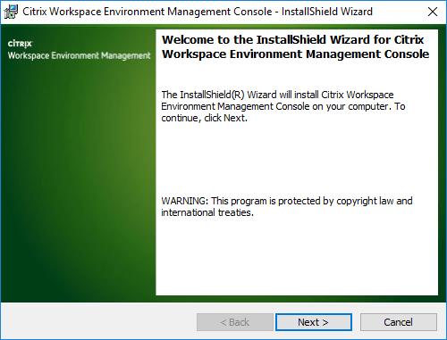 Citrix Workspace Environment Management Console Setup.exe