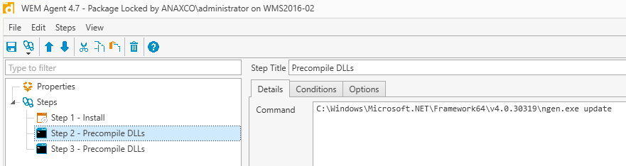 Update Citrix Workspace Environment Management (WEM) from 4