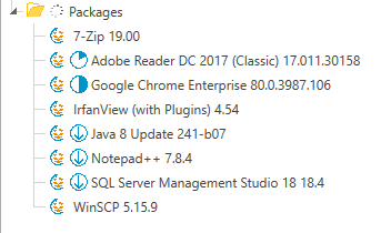 Auto Packages import
