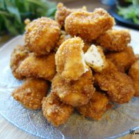 Knusprige Chicken Nuggets in einer Cornflakes Panade