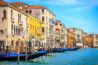 Venedig Canal Grande Leinwand, Acryl, Alu Dibond