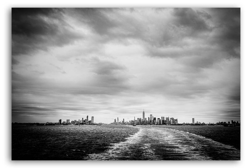 New York Foto Leinwand