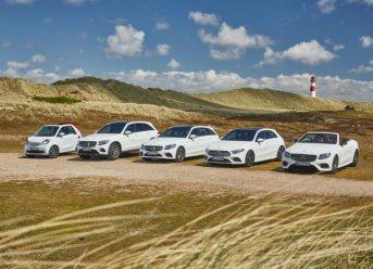 Mercedes-Benz und Europcar auf Sylt