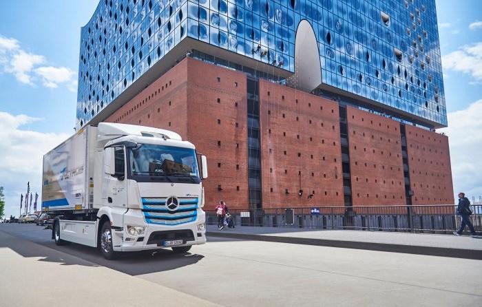 Nagel-Group fährt jetzt in Hamburg elektrisch