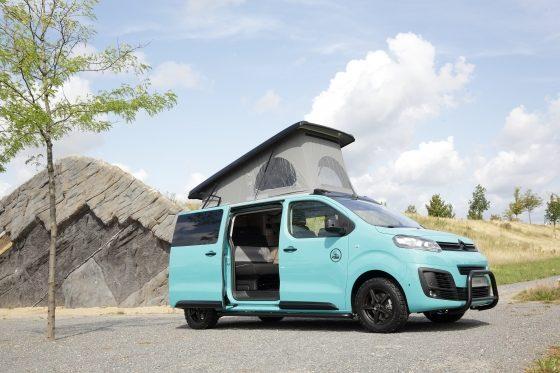 Citroën Pössl Campster Cult mit Musketier Umbau
