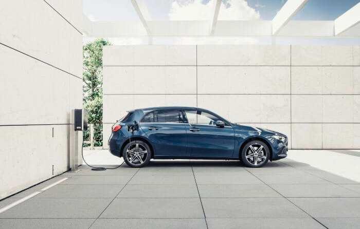 Mercedes-Benz Plug-in-Hybriden EQ Power