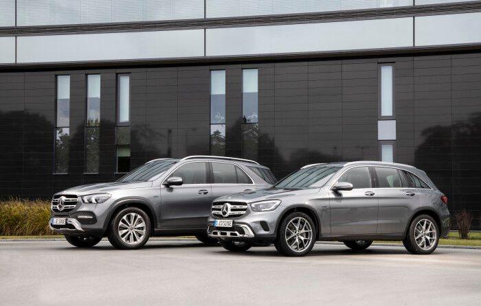 Mercedes-Benz GLE 350 de 4MATIC und GLC 300 e 4MATIC
