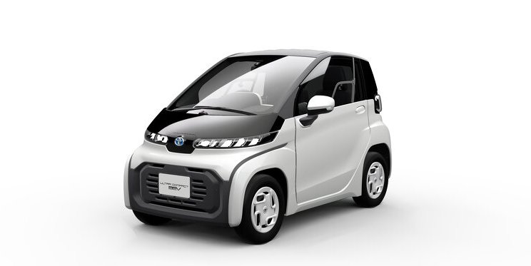 """Toyota präsentiert serienreifes ultrakompaktes Elektroauto, Premiere auf der """"Future Expo"""" der Tokyo Motor Show 2019"""