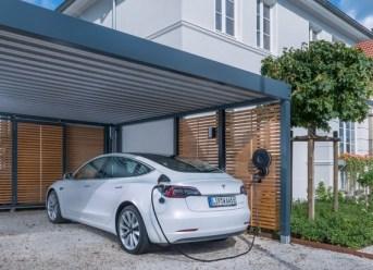 Elektroladesäule für Privathaushalte
