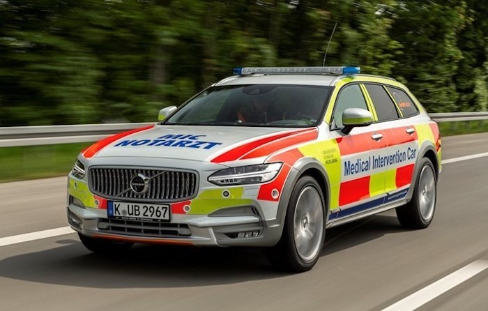 Volvo Medical Intervention Car