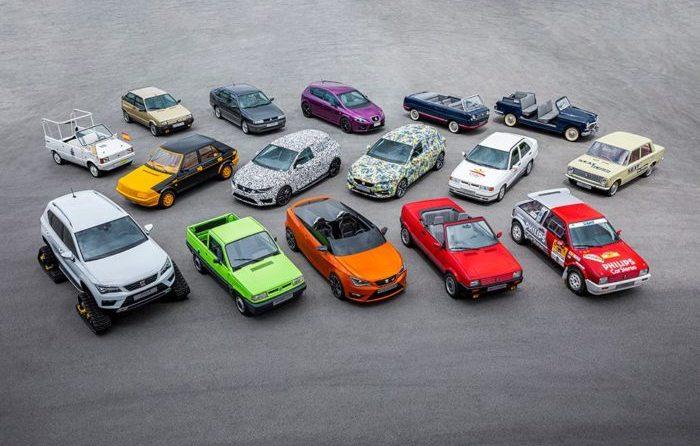 16 Sondermodelle aus 70 Jahren SEAT Geschichte
