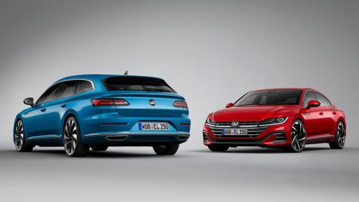 VW Arteon und Arteon Shooting Brake