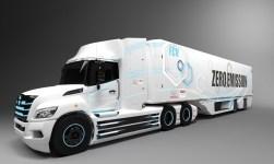 Brennstoffzellen-Lkw für Nordamerika