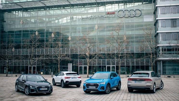 Plug-in-Hybride von Audi
