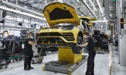 Lamborghini Produktion