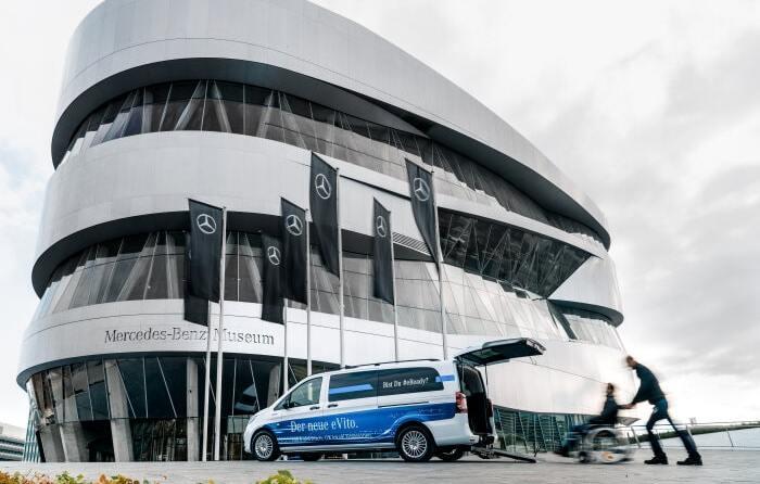 Rollstuhlgerecht Mercedes-Benz eVito Tourer Umbau