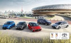 Team-Deutschland-Modelle von Toyota