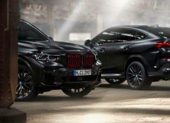 BMW X5 und BMW X6 Black Vermilion