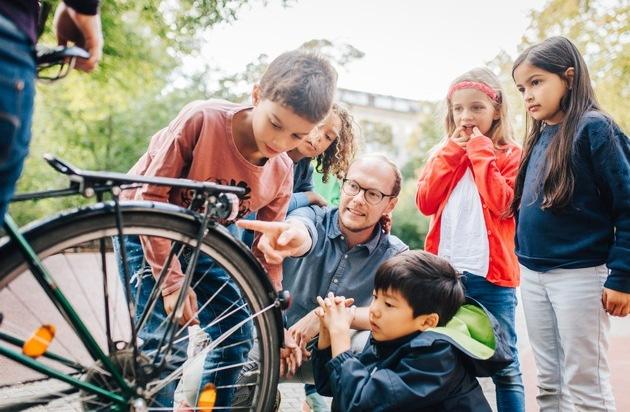 Kinder Sicherheit Fahrrad