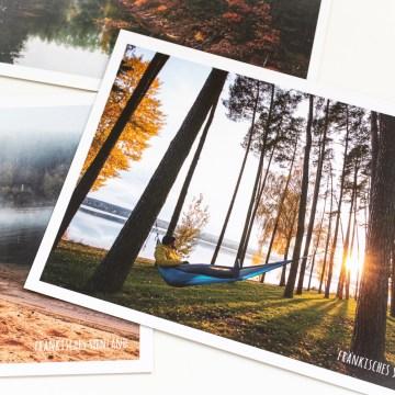 Frischluft-Abenteuer Postkarten Set