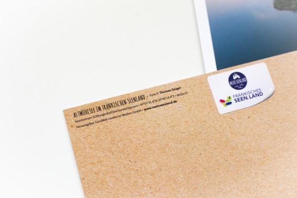 Himmelsspiele im Fränkischen Seenland Postkarten Set