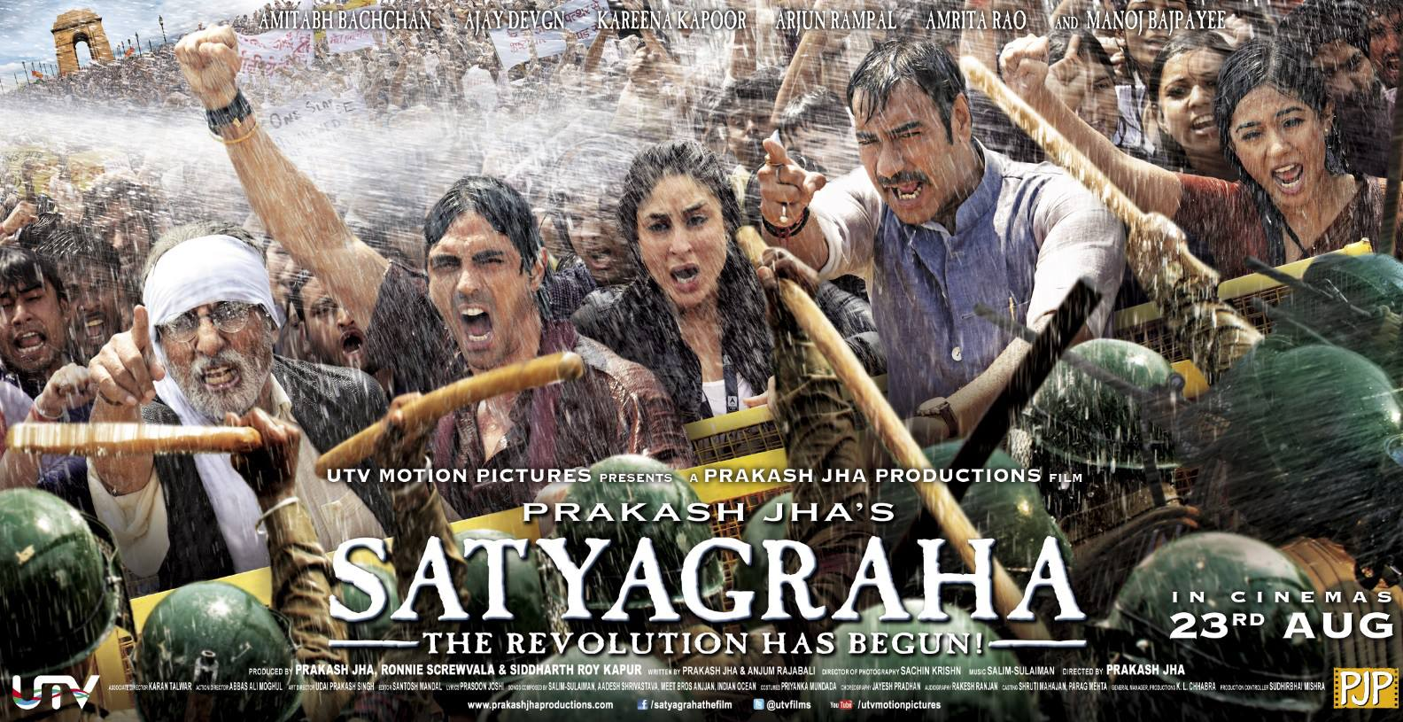 Satyagraha Movie Poster