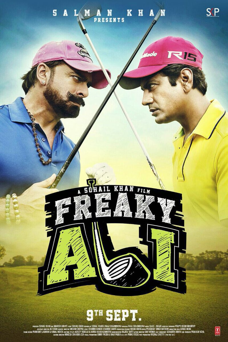 Freaky Ali Movie Poster Nawazuddin Siddiqui And Jas Arora