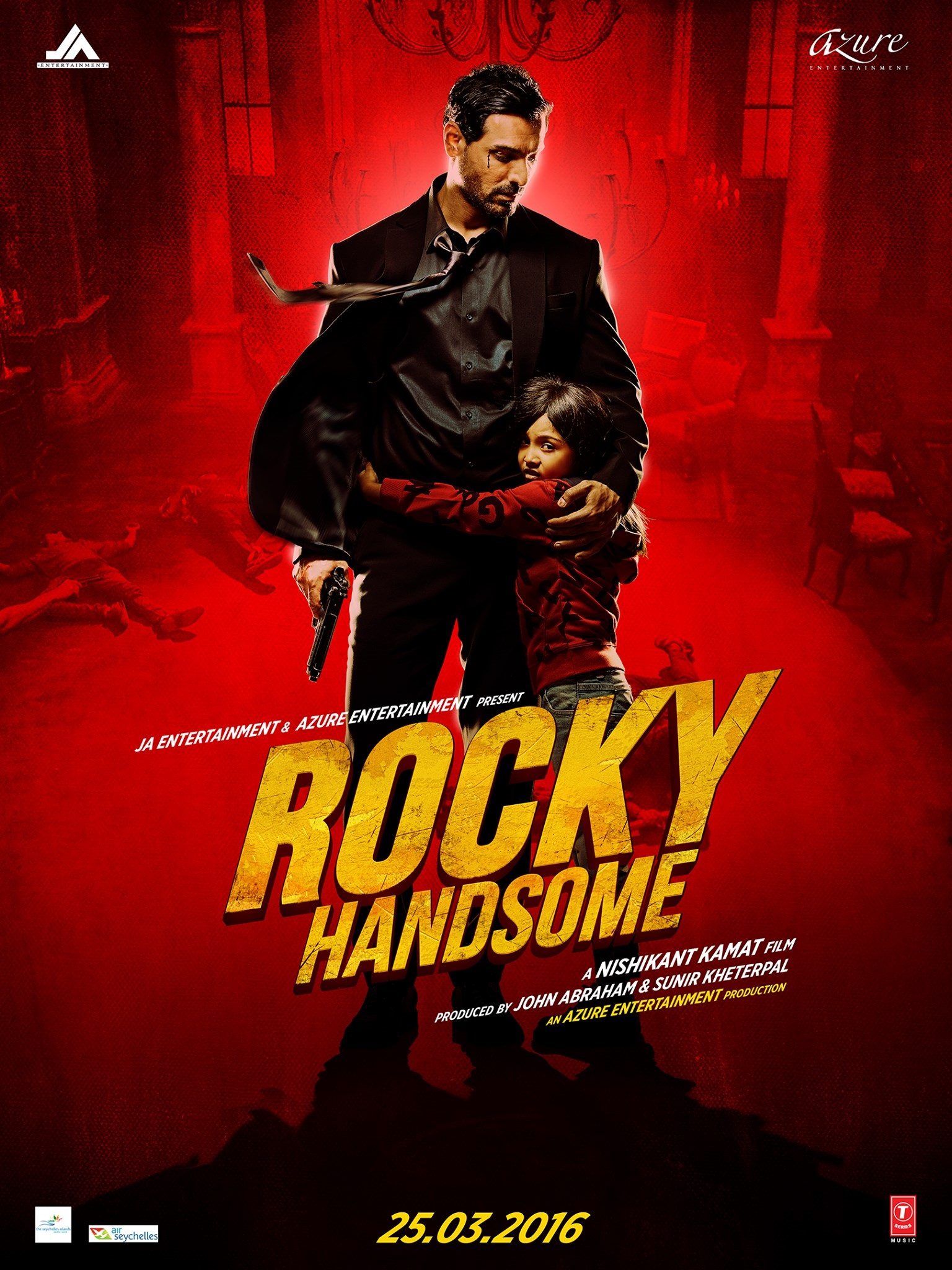 Rocky Handsome Movie Poster John Abraham Diya Chalwad