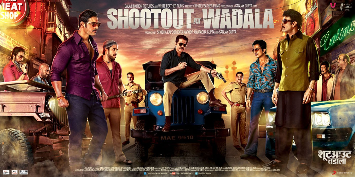 Shootout At Wadala Movie Poster Full HD Desktop Wallpaper