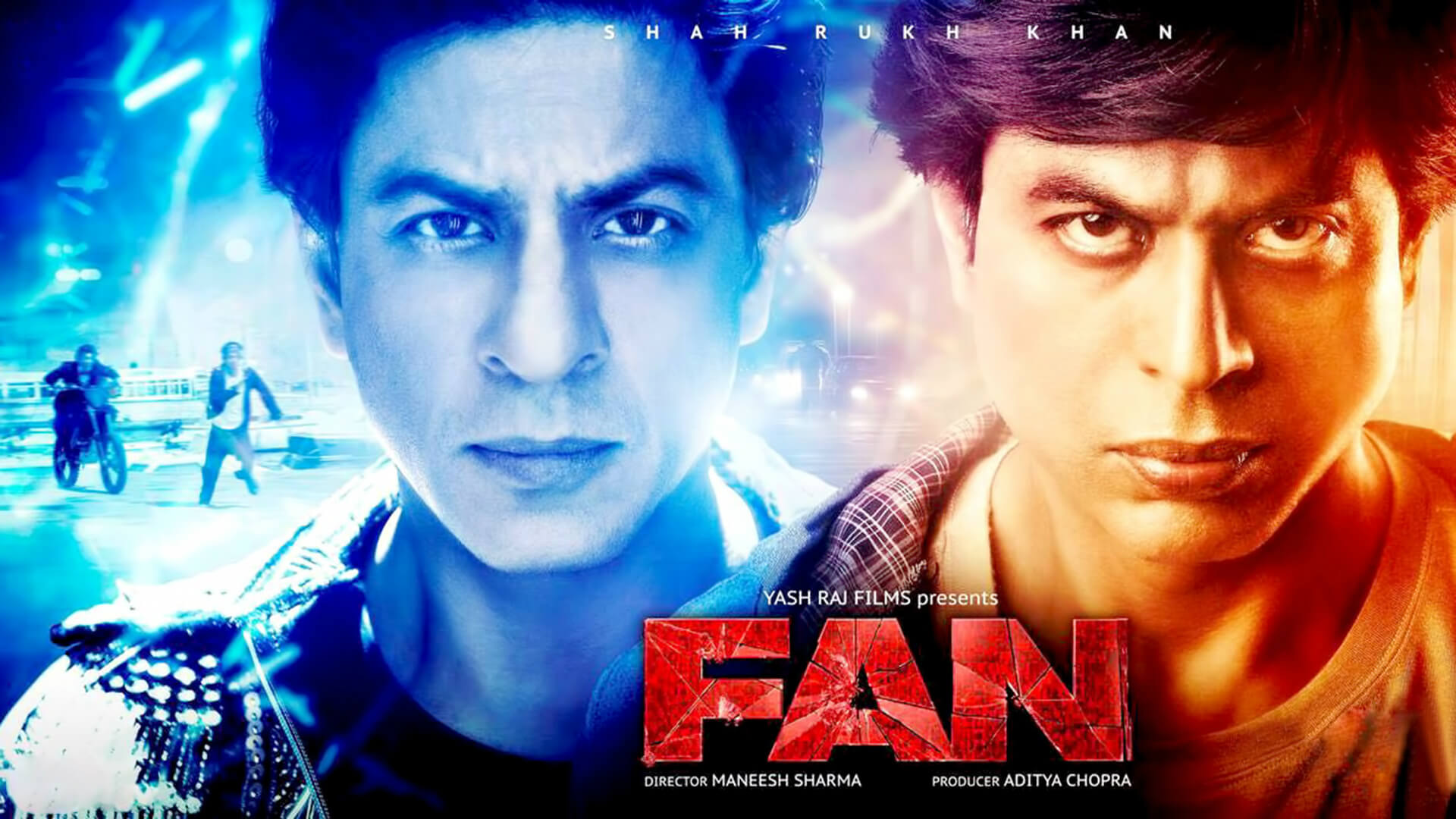 Fan Movie Poster HD Wallpaper Shah Rukh Khan