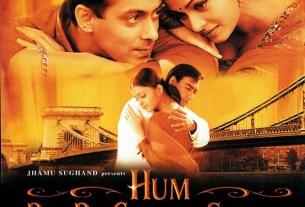 Hum Dil de Chuke Sanam Movie Poster - Salman Khan, Ajay Devgan And Aishwarya Rai
