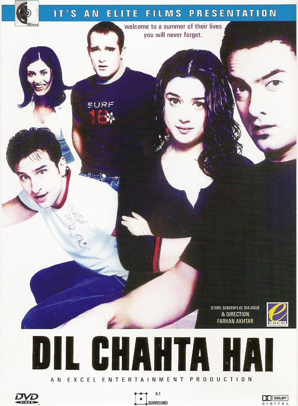 Dil Chahta Hai Movie Poster Aamir Khan