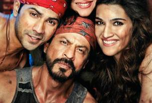 Dilwale Movie Poster - Shahrukh Khan, Kajol, Varun Dhawan, Kriti Sanon - HD Wallpaper