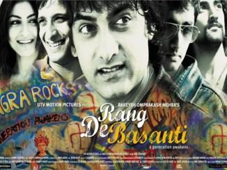 Rang De Basanti Movie Poster - Aamir Khan - Full HD Desktop Wallpaper