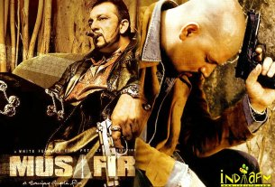 Musafir Movie Poster HD - Sanjay Dutt