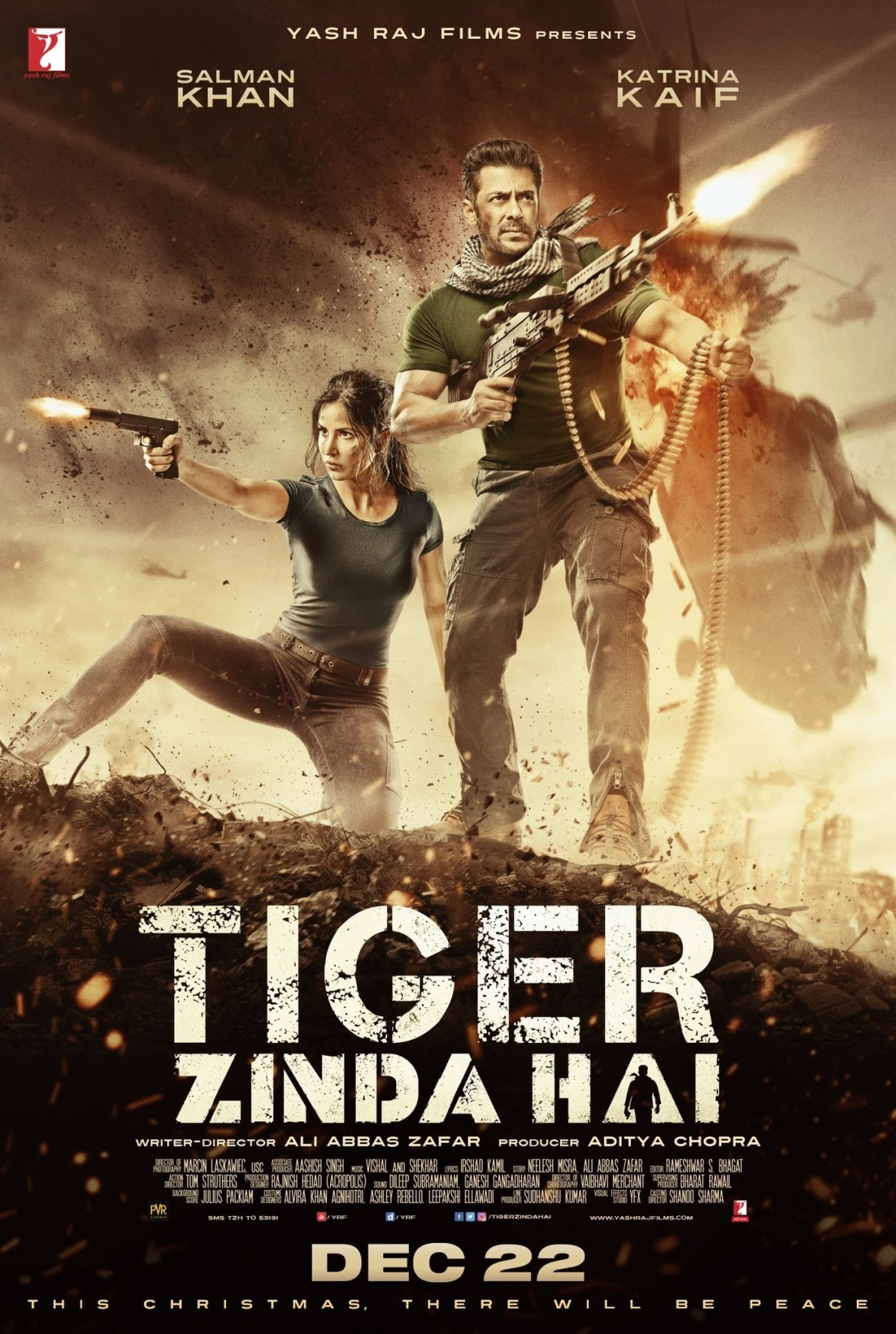 Tiger Zinda Hai Movie Dialogue (Filmy Quotes)