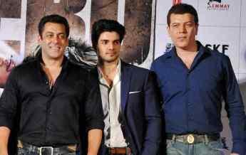Salman Khan, Sooraj Pancholi And Aditya Pancholi