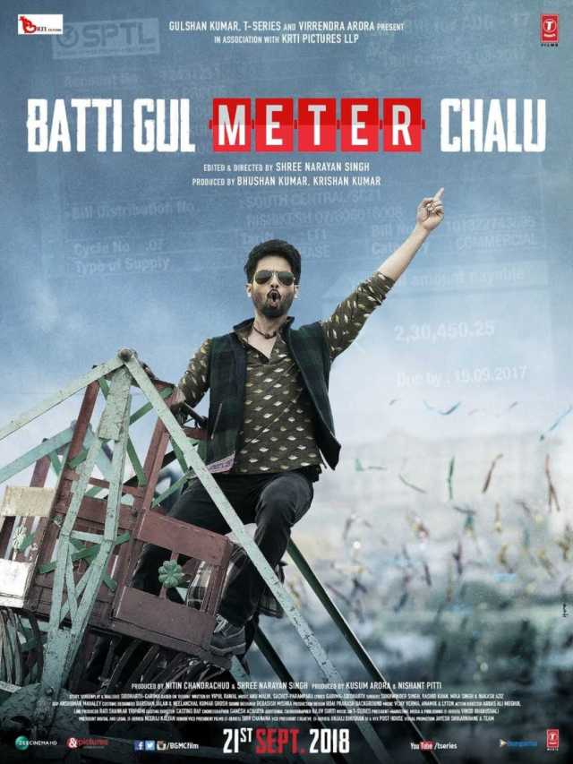 Batti Gul Meter Chalu Movie Dialogues Poster Shahid Kapoor