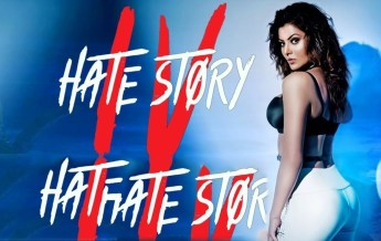 Hate Story 4 Movie Dialogues Poster Urvashi Rautela