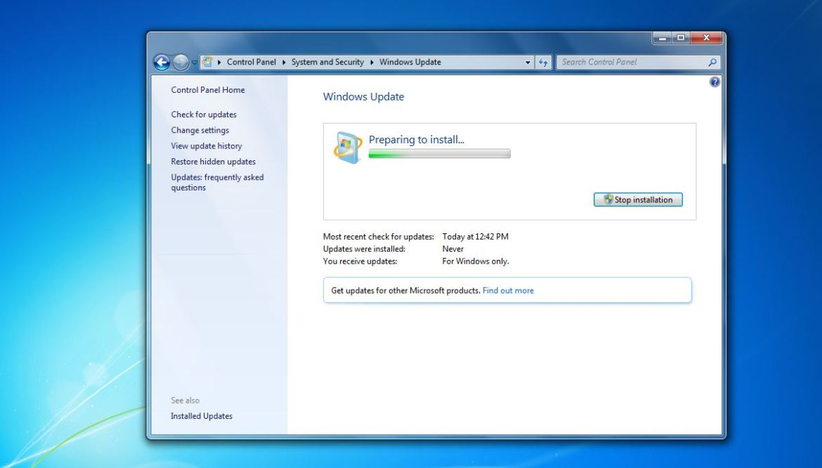 How to install updates in Windows 7 (All version)